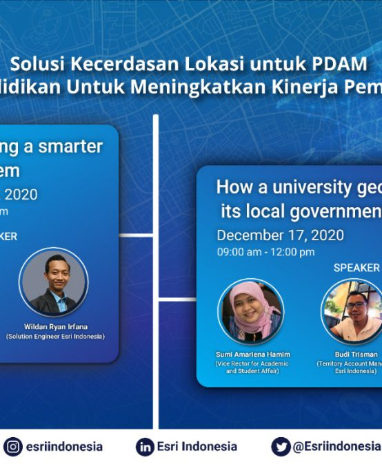 Webinar: How universities geo-enabled their local government